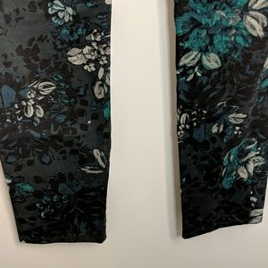 GAP Pants & Jumpsuits - GAP Always Skinny Floral Jeans Size 6